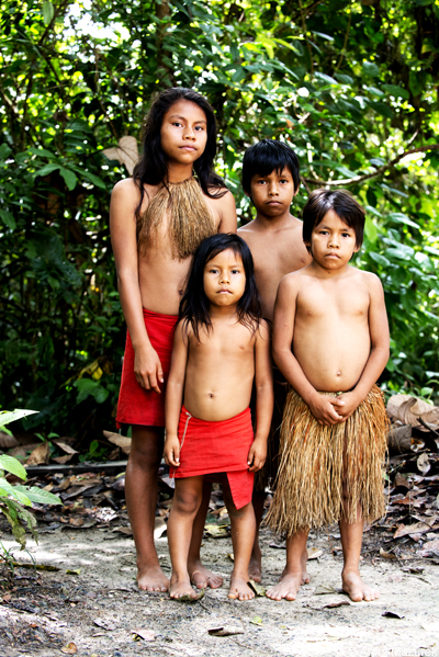 I Asked The Children Of Yaguna Tribe For A Portrait They Spoke No English And Only Spanish Word Knew Was Propina Which Means Tip